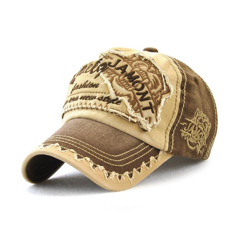 9908949992d Retro Adjustable Cotton Baseball Cap For Women Men Tiger Embroidery Unisex  Outdoor Sport Casual Hats Dad Trucker Cap 47 Brand Hats Vintage Baseball  Caps ...