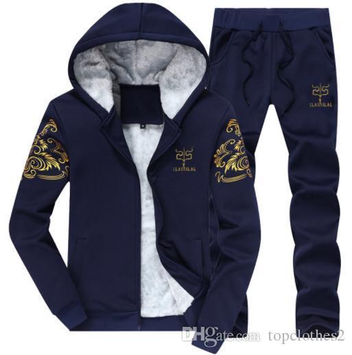 2018 NEW Designer Brand Autumn Winter Men Clothing Mens Jogging ... 1e6e99dde90f