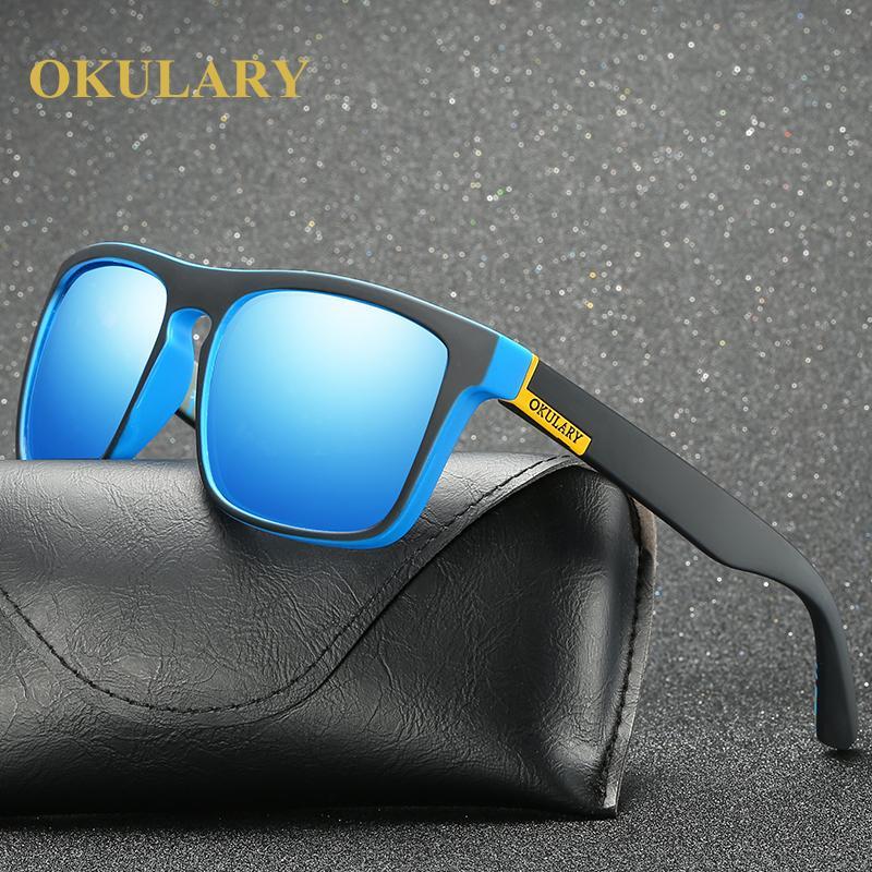 affaccf4ebb OKULARY High Quality Vintage Polarized Sunglasses Men Women Brand Design  Square Glasses Outdoor Driver Fishing Sunglasses Unisex Glass Frames Online  ...