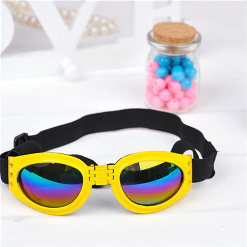 Hot Sale Fashion Dog Sunglasses Wholesale Foldable Windproof Hazard Protective Glasses Dog Sunglasses Pet Glasses Wholesale