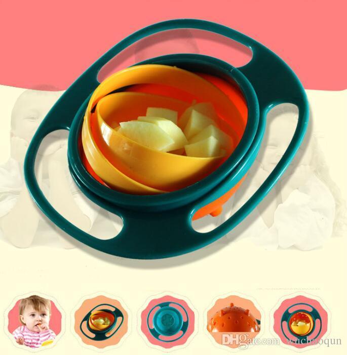 عملي طفل رضيع غير spil التغذية طفل الدوران السلطانية 360 الدورية الطفل تجنب الغذاء تسرب الأطفال خلق عاء كما التغذية