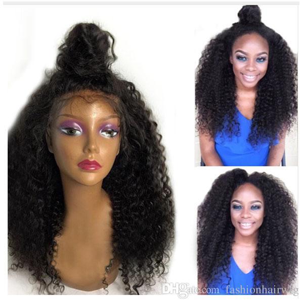 Acheter Pas Cher Naturel Noir Perruque Afro