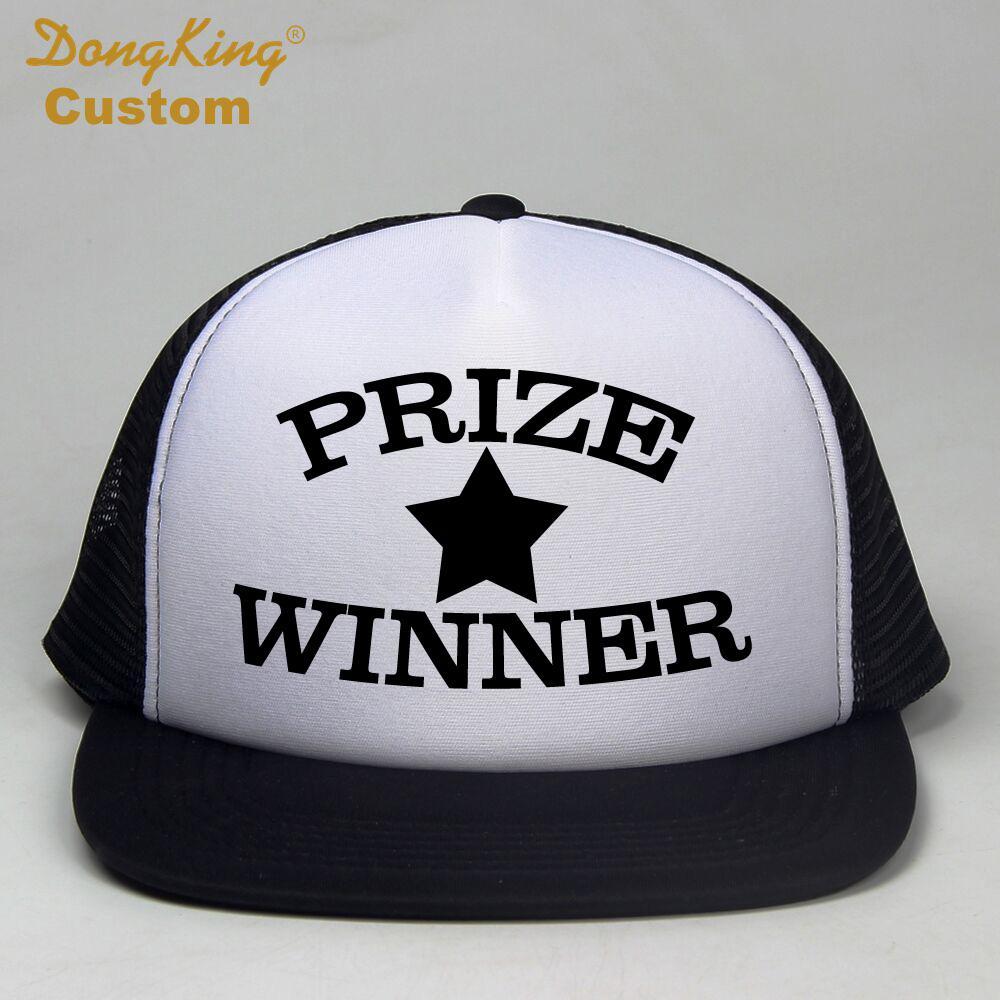 34894888ca8 ... discount dongking women men rock trucker caps prize winner black cap  mesh rock cotton baseball trucker