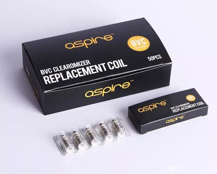 Original Aspire BVC Coils BDC coil for Aspire BDC Atomizer CE5-s vivi nova mini Atomizers ET ET-S mini E-pen maxi atomizers dual Coils