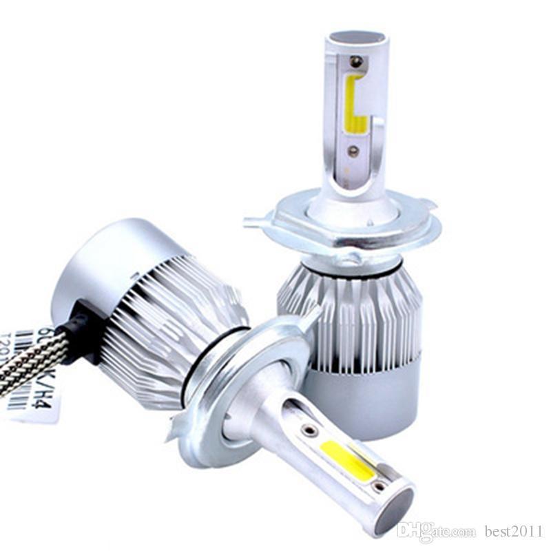 Стайлинг автомобиля 12В С6 фары Сид удара автомобиль авто Н4 Н7 лампа головного света 72 Вт 7600LM голова Лампы H1 светодиодные лампы для автомобилей