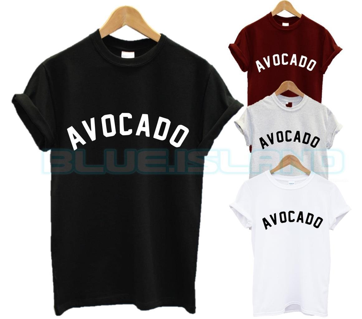 18e550e38 Details Zu AVOCADO T SHIRT Top Fashion Blogger Slogan Cute Tumblr Vegan  Vegetarian FOOD NEWFunny Unisex Casual Mens Shirt Printed Shirts From  Tshirthutzone