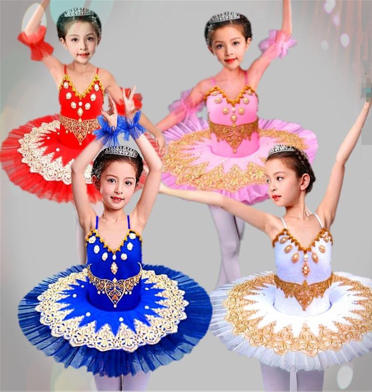 78af0a109 2019 Children S Ballet Tutu Dress Skirt Little Swan Dance Skirt ...