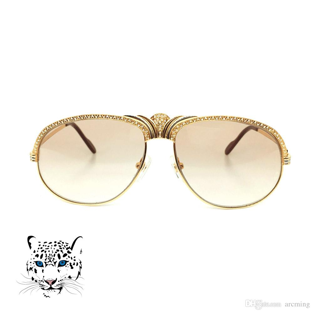 c9311b1c31 Crown Glasses Frame With Stone Decoration Sunglasses For Women High Quality  Party Equipment Fashion Accessories In Summer John Lennon Sunglasses Wiley  X ...