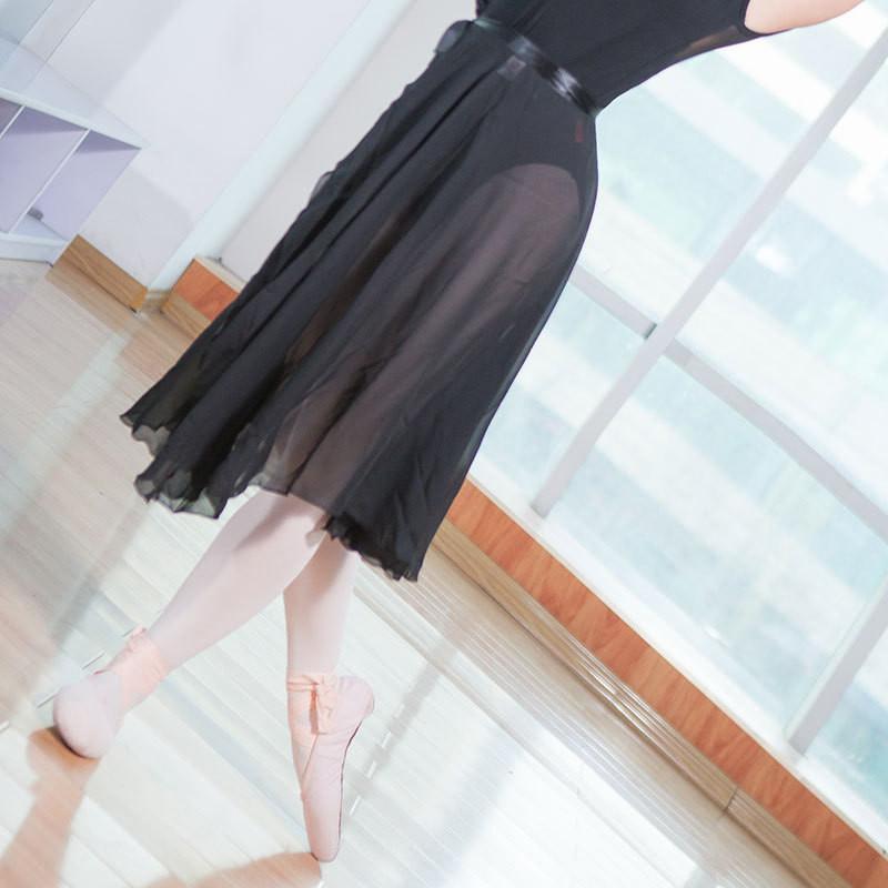32191714a 2019 New Adult Ballet Tulle Skirt Teacher Training Long Chiffon ...