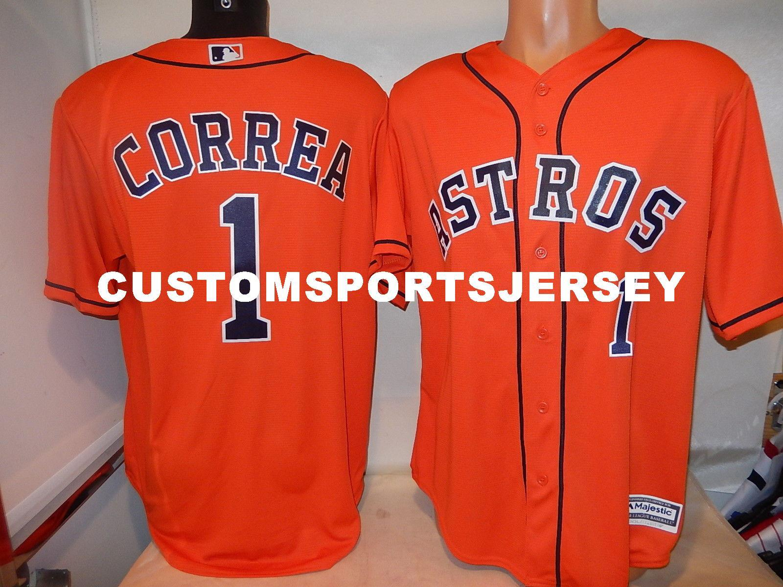 watch cbbf8 56e60 wholesale carlos correa orange jersey 23659 dce45