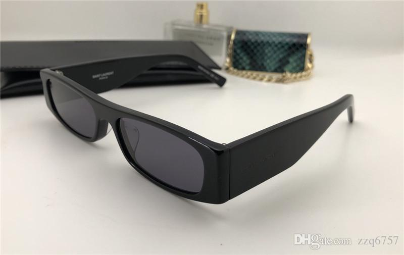 f7d6cab50081 Retro Simple Fashion Style Square Frame Design Men And Women with ...