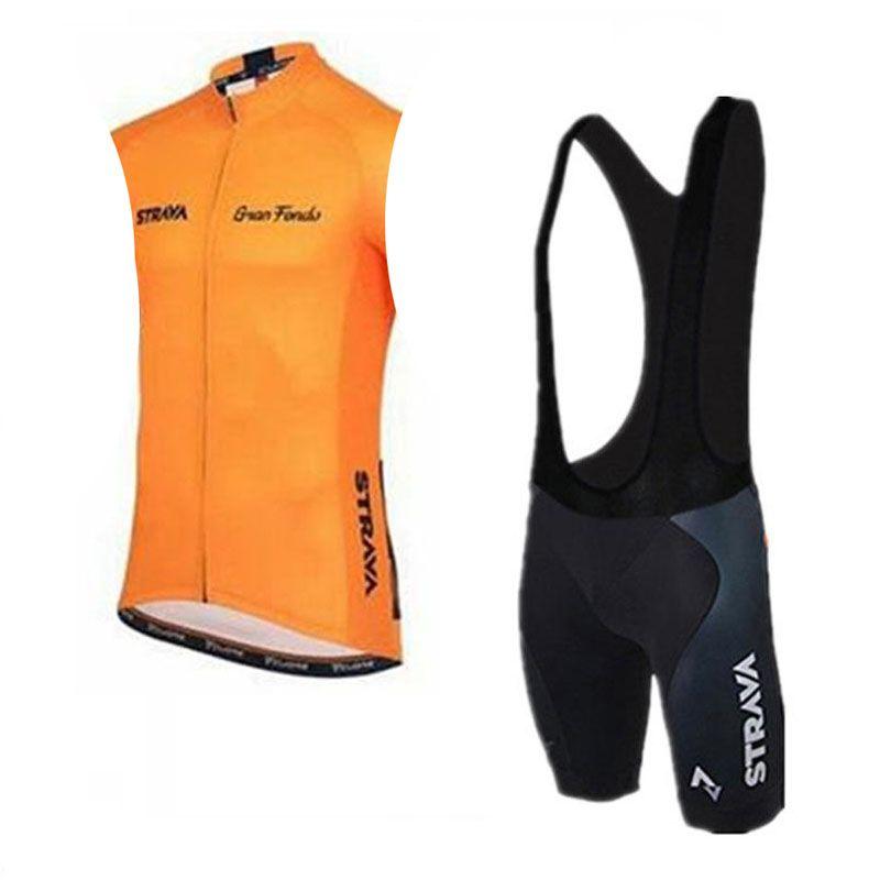 STRAVA Team Велоспорт короткие рукава Джерси нагрудник шорты наборы открытый велоспорт велосипед набор прохладный и удобный лето дышащий c2413