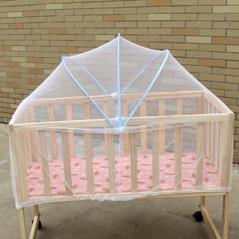 b143ab6a4 Baby Crib Mosquito Net Mesh Crib Tent Folding Net Bed For Babies Baby Cot  Mosquito Sleeping Tent Cot Wigwam Canopy Organza Baby Cot Canopy Net Make  Your Own ...