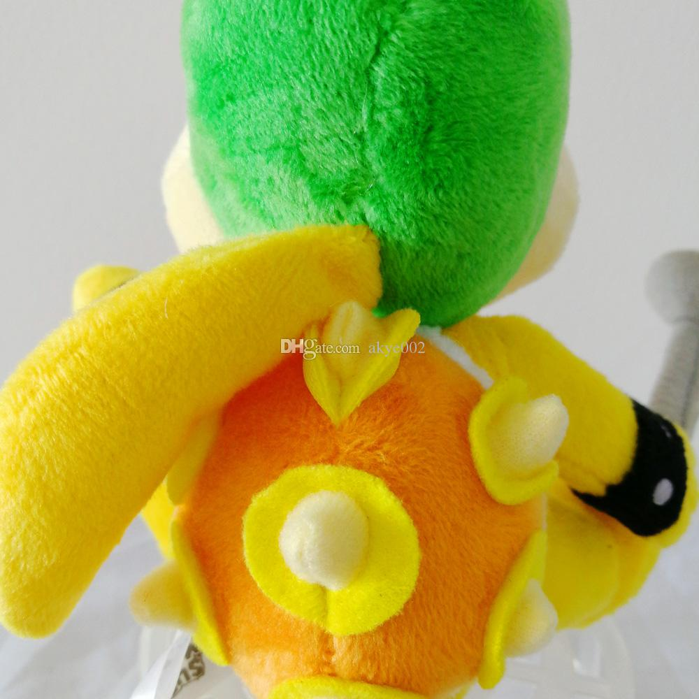 "Hot Sale 8"" 20cm Super Mario Bros Koopalings Lemmy O Koopa Plush Toys Stuffed Soft Dolls Kids Gift"