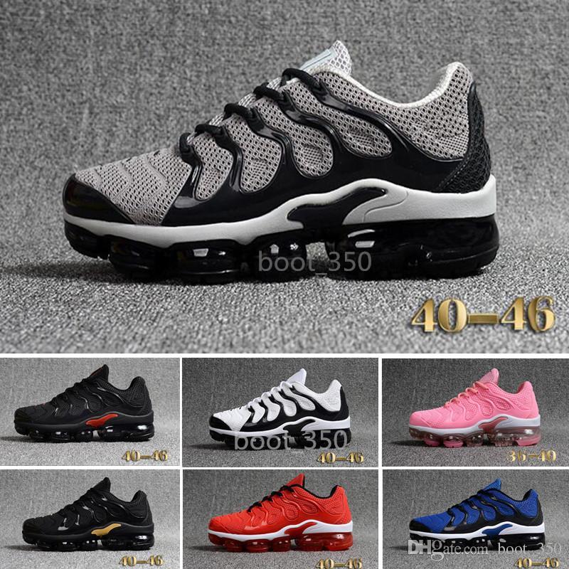 big sale 0d0b5 71b54 Acheter Nike TN Plus Vapromax KPU En Gros AIR 2018 Vapormax TN Plus Mens Casual  Chaussures Ventes TOP Qualité D origine Pas Cher Air Tn KPU Femme Classique  ...