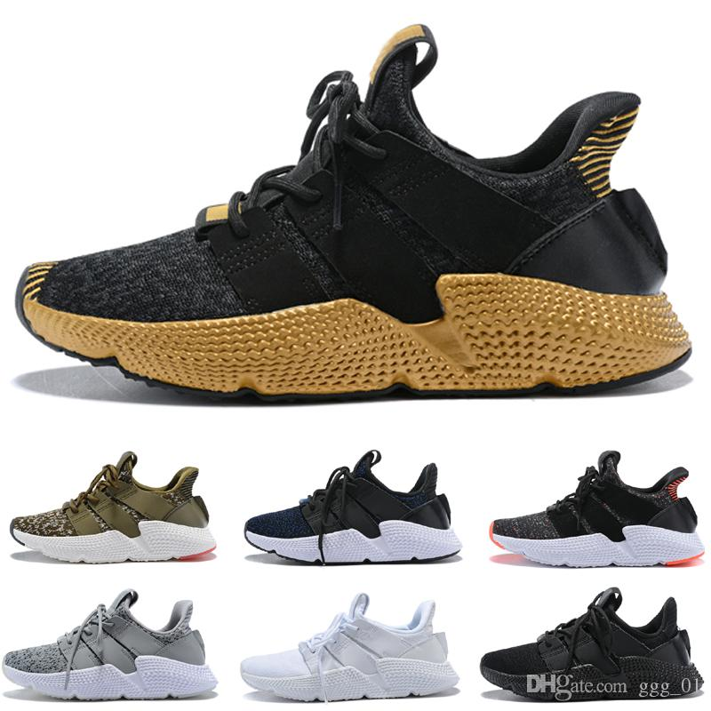 huge selection of 1bbea 27d00 2018 newest Prophere EQT support CQ3023 Triple Black white Blue Trace Olive  Running sneaker sports shoes for men size7-11