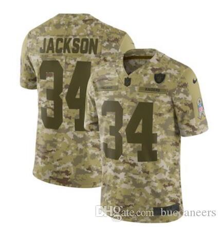 2018 Marshawn Lynch Jersey Raiders Derek Carr Bo Jackson Jordy Nelson Salute  To Service Limited American Football Jerseys Woman Mens Youth Kids From  Buy3 0e503c2d0
