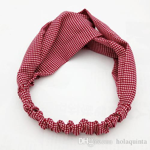 Bandeau de tissu doux filles Turban Accessoires de cheveux pour les femmes Head Head Wrap Headdress