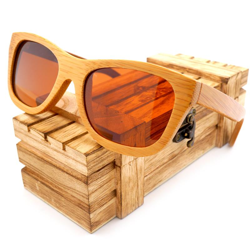 58fedbd5d5d017 Polarized Mirror BOBO BIRD 100% Natural Bamboo Wooden Sunglasses Handmade Polarized  Mirror Coating Lenses Eyewear With Gift Box Wood Sunglasses Bamboo Wood ...