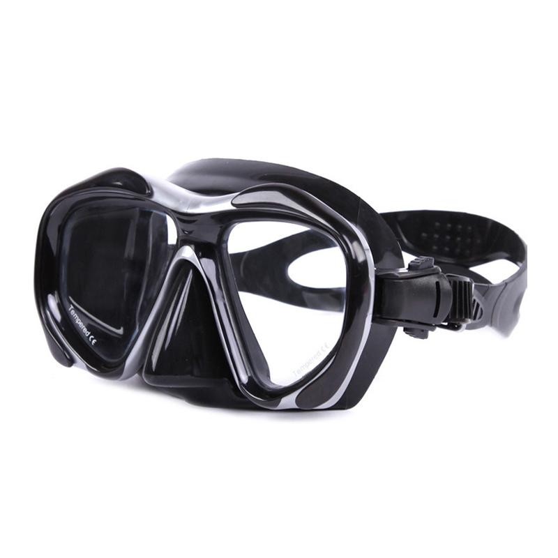 680e993cb9a 2019 HD Large Field Of View Tempered Glass Goggles Adult Men And Women  Diving Mask Multicolor Optional Diving Glasses From Hineinei