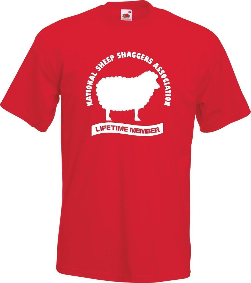 SHEEP SHAGGERS ASSOCIATION Funny Welsh Wales TShirt T Shirt Gift Sheep New  T Shirts Funny Tops Tee New Unisex Tops It T Shirt The T Shirt From  Dolylove fd6438d85