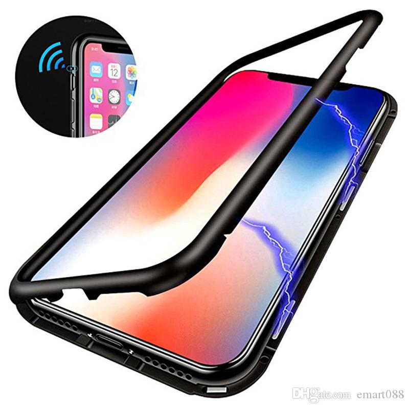 uk availability 315b9 56892 Ultra Magnetic Adsorption Phone Case for Galaxys8 Plus Cases for Samsung  Galaxy S9plus S 8 S9 Skin Luxury Magnet S7 S7plus Note8 Cover