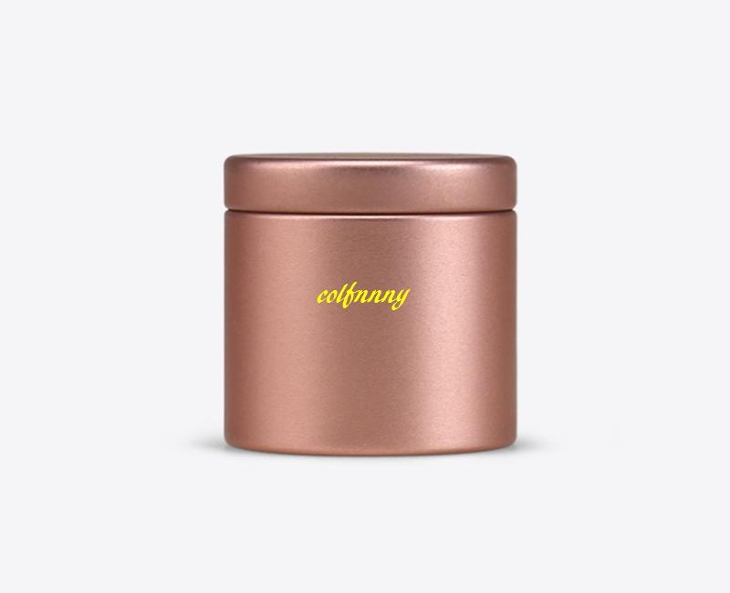 FAST SHIPPING 47*45mm Mini Small Tea Caddies Caddy Metal Tin Storage Boxes Candy Case Organizer Box For Travel