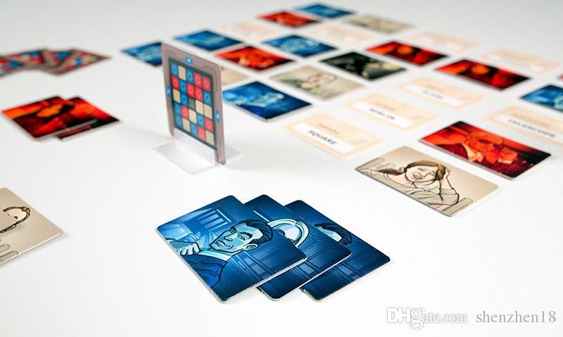 2017 Codenames Party Game Funny Games For Adults Social Word Game a Simple Premise And Challenging Playing Card Game
