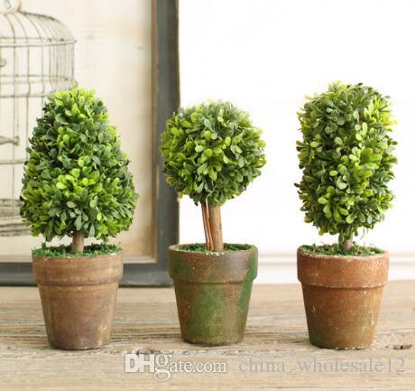3 Botton Mini Artificial Plant Decor Decorative Potted Plant For Living  Room Home Office Wholesale And Retail Unique Home Decor Unique Home  Decorations From ...