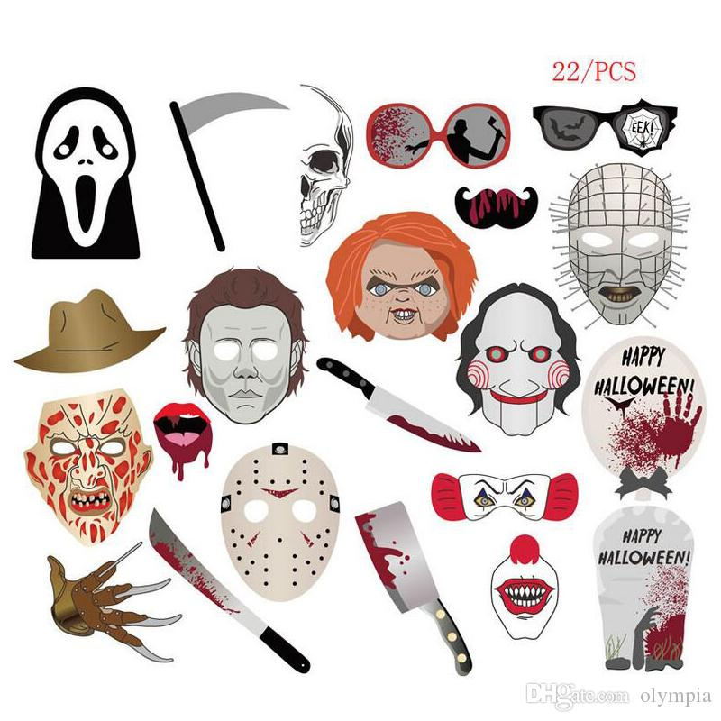 6c434d89f0b Halloween Decoration Prop Photo Props Scary Stuff Party Photo ...