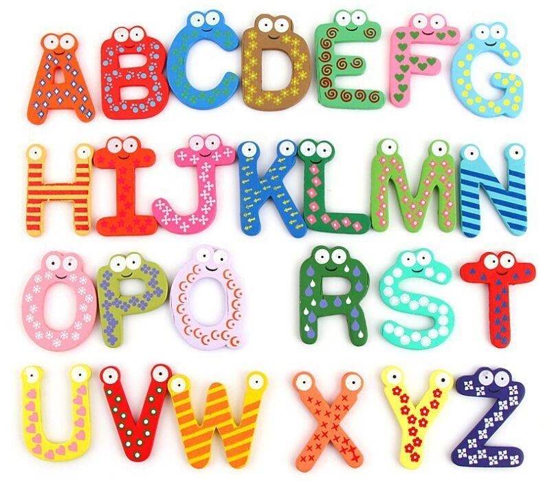 Großhandel 26 Teile Satz 26 Buchstaben Zahlen Zeichen Grün
