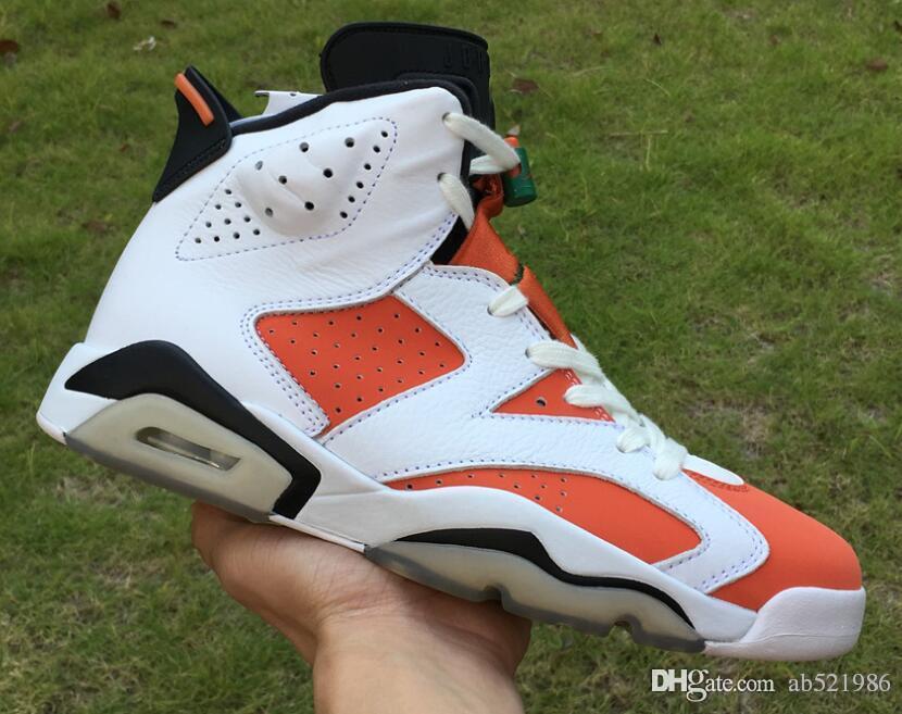 wholesale dealer bd255 14040 basketball shoes 6s Gatorade man sneaker 384664-145