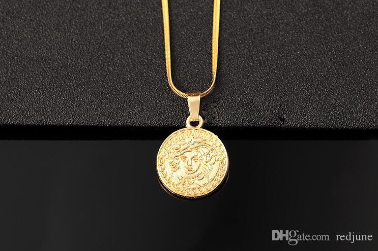 Moda tasarımcısı kolye kolye erkekler erkekler için yeni streetwear hip hop kolye yeni varış erkekler altın zincir kolye ücretsiz kargo