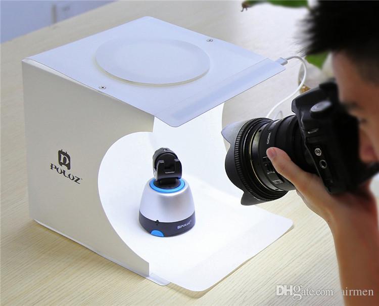 Mini Foto Studio Box Fotografie Kulisse Eingebaute Licht Foto Box Kleine Gegenstände Fotografie Box Studio Zubehör Epacket Frei