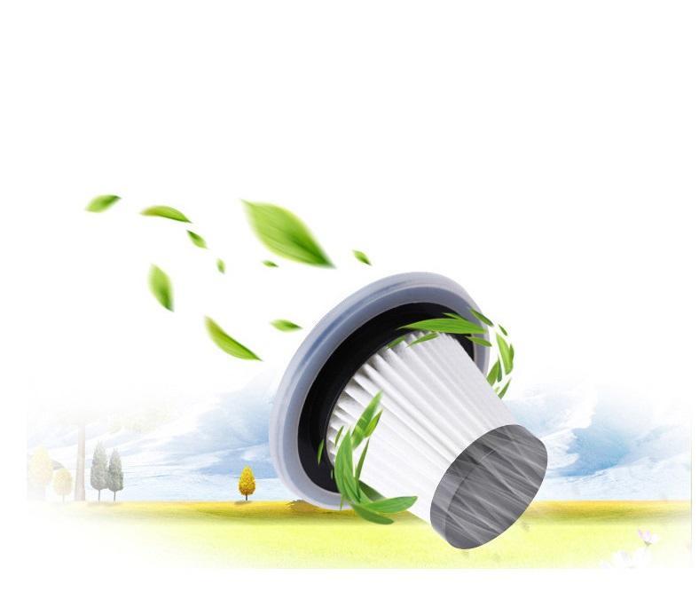 Newcar Araba Vakum 12 V 106 W Superpower Çift Kullanımlı Süpürge Taşınabilir mini Akıllı Robot Süpürge Kuru Islak