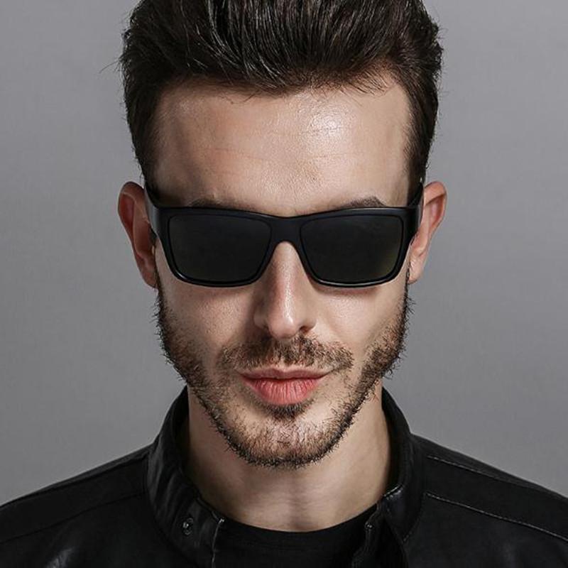 Compre Aabbye 2018 Dos Homens Óculos De Sol Polarizados Design Da Marca  Retangular Óculos Escuros De Alta Qualidade Da Moda Óculos De Sol Oculos De  Sol De ... cd224930e7