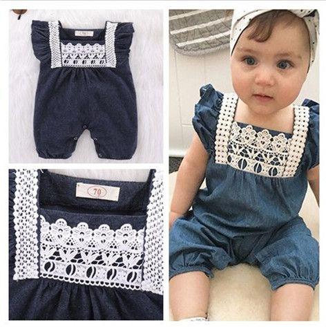 09d66ca2f48 Cheap Newborn Baby Girls Boys Jumpsuit Romper Cute Bebe Clothes Wholesale