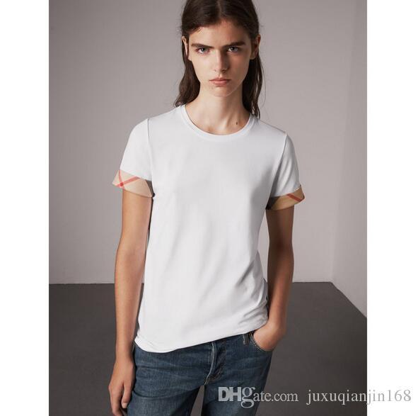 2018 new WomenT-Shirt O Neck Striped Short Sleeve Summer Tops Fashionable Casual Female Tees harajuk Tops tee shirt femme