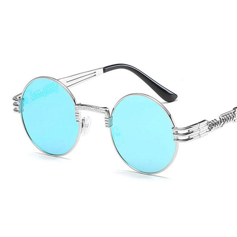 24cc25081a 2018 New Hot Fashion Metal Steampunk Sunglasses Women Brand Designer Unique  Men Gothic Sun Glasses Vintage Round Sunglasses Retro Cycling Sunglasses  Running ...