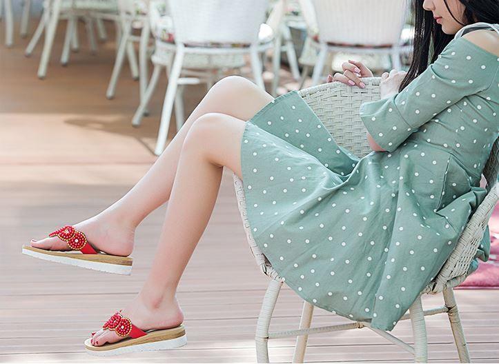 New Arrival Time-limited Beach Bags Fashion Women Summer Slippers Flip Flops Flat Sandals Beach Shoes Shoe Woman High Heel Designer