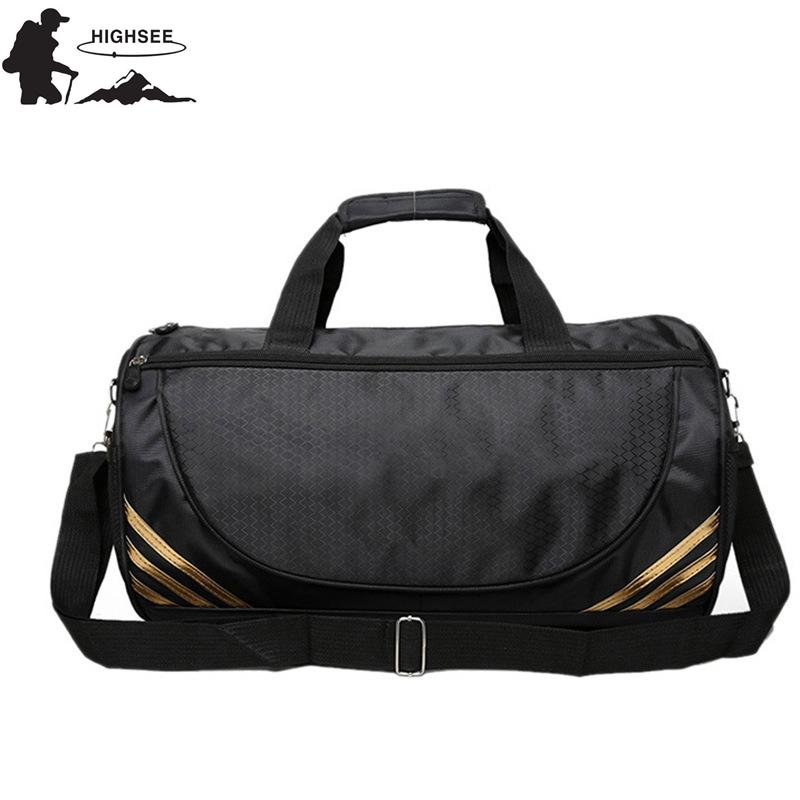 1be2b0c1dd 2019 HIGHSEE Sport Bag For Men Fitness Women Bolsa Deporte Hombre Gimnasio Sac  De Sport Femmes Gym Fitness Hommes Waterproof Luggage From Quintin, ...