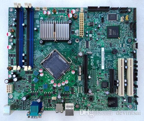Placa-mãe para servidor S3200SH Intel 3200 LGA 775 DDR2 ATX