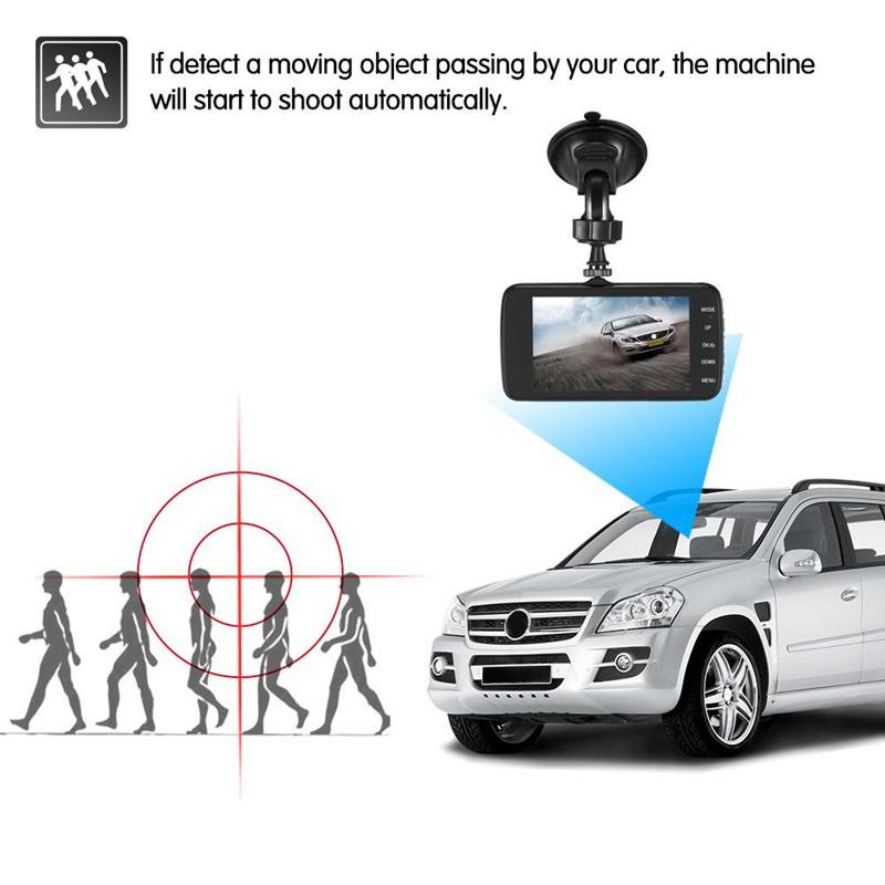 Original full HD car DVR 1080P 2Ch car driving camera 170° view angle data recorder black box G-sensor parking monitor motion detection