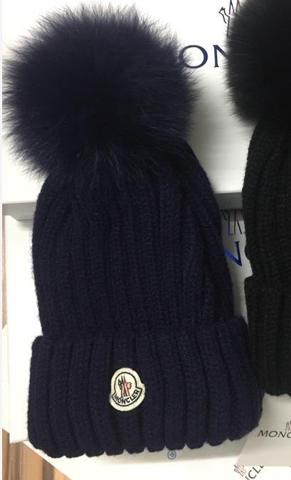 HOT Branded Women Winter Knit Hat Pure Cotton Wool Fox Fur Fashion Girl Soft  Warm Hat Kangol Baseball Caps From Bingo3 f86728ff45f5