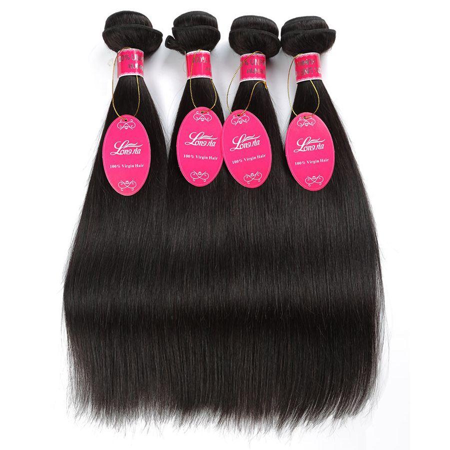 Wholesale Mink Brazilian Virgin Hair Straight Body Wave Deep Wave Wet and Wavy 3 or 4 Bundles 100% Brazilian Human Hair Extensions