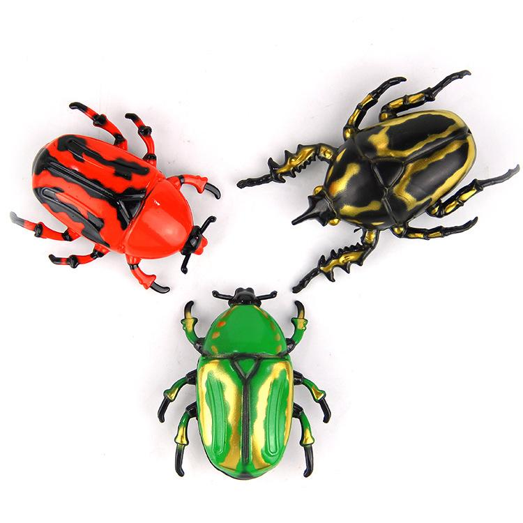 Simulation Beatles Electronic Trick-Playing Toys Robotic Insect For Children Practical Jokes Toys Worm Fighting Insects Reptiles