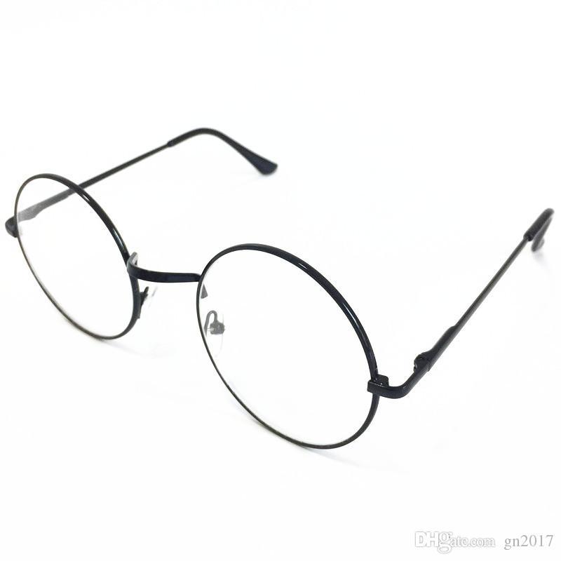 HOT Selling Fashion Women & Men Retro Glasses Round Frame Eyeglasses ...