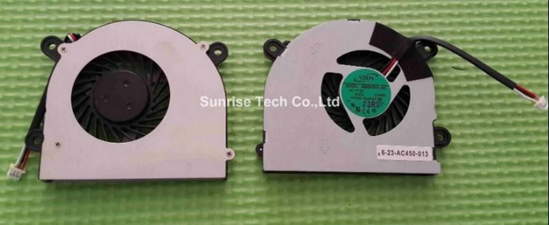 laptop cpu cooling fan cooler fan for MSI S6000 X600 CLEVO 7872 C4500 FAN AB6505HX-J03 AB6605HX-J03 C4500 6-31-W25HS-100