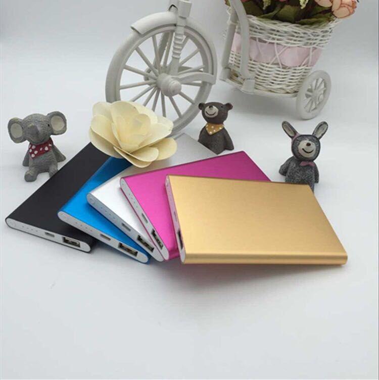 Polímero ultra delgado potencia móvil tesoro de carga nuevo poder móvil 10000 Ma móvil universal tesoro de carga ultra delgado portátil -5
