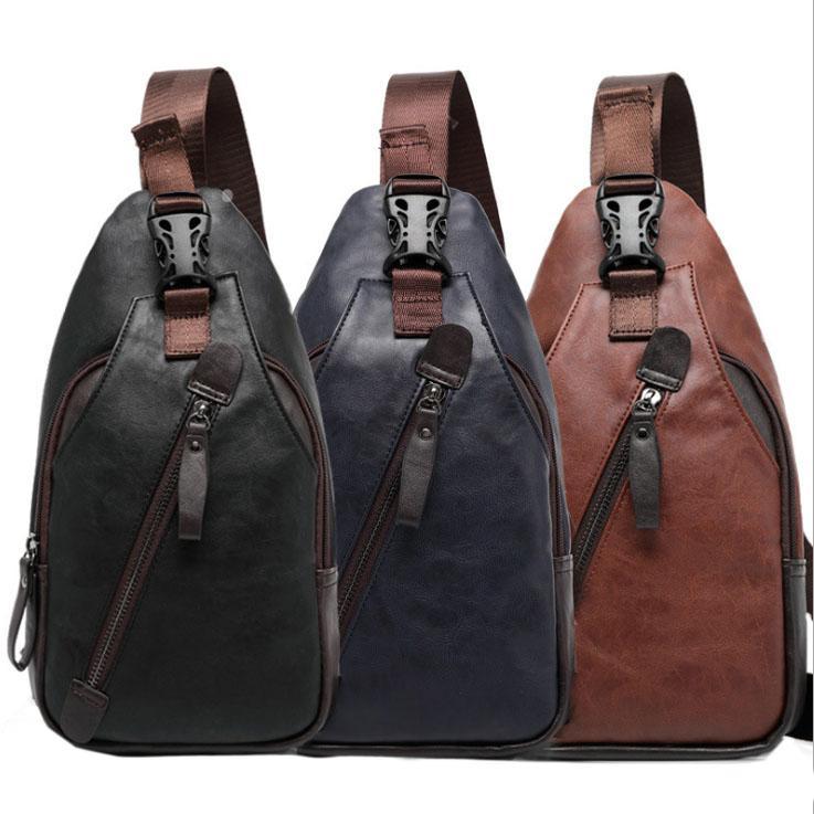 c57036f90b9a7d New Men PU Leather High Quality Travel Cross Body Messenger Shoulder ...